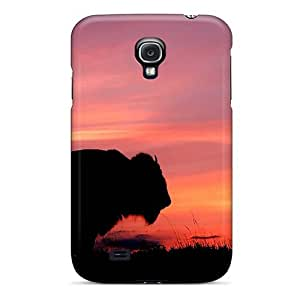High Grade MichelleNCrawford Flexible Tpu Case For Galaxy S4 - Sunset Buffalo Wallpaper