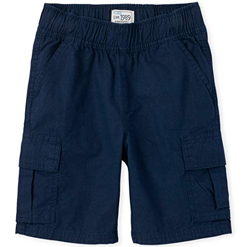The Children's Place Boys Slim Size Pull-on Cargo Shorts, Tidal, 12 (Children Place Clothes)