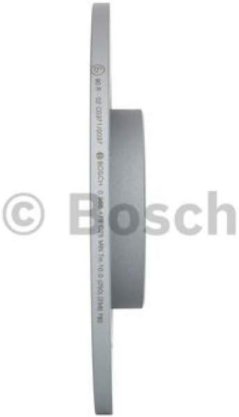 BOSCH 0 986 479 C25 Bremsscheibe Scheibenbremsen Bremsscheiben x2