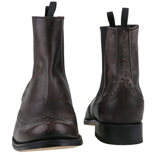 Sendra Boots - Botas de cuero para hombre gris antracita gris - antracita