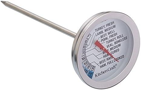Milchsch/äumer mit Edelstahlthermometer by DELIAWINTERFEL