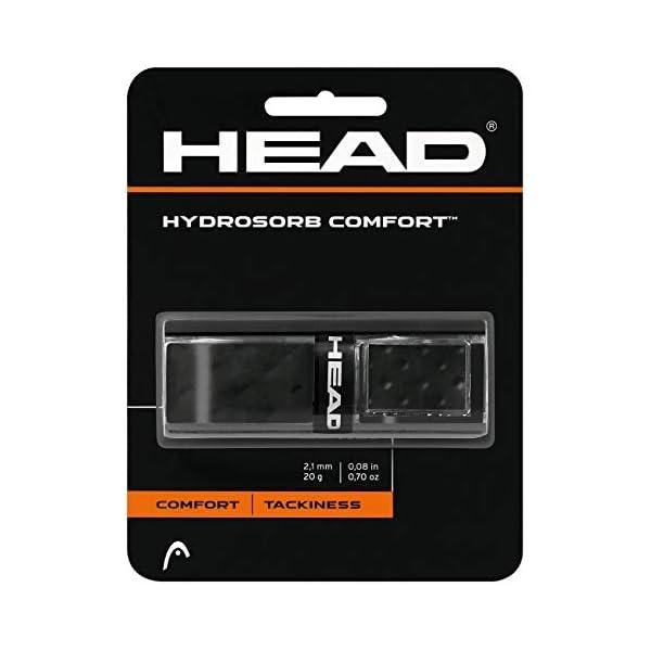 גריפ מקצועי של חברת HEAD מיועד לאחיזה נוחה וחזקה יותר של מחבט הטניס שלך