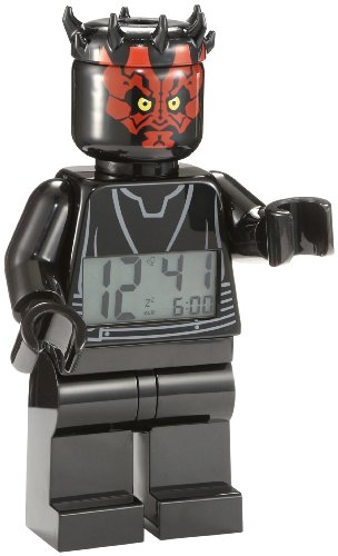 (LEGO 9005596 Star Wars Darth Maul Minifigure Clock)
