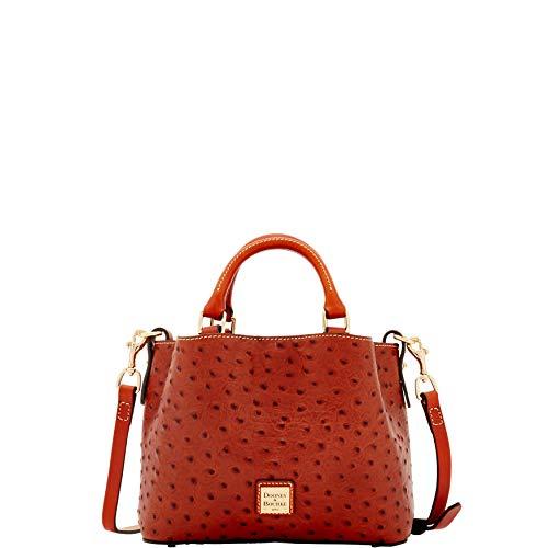 Dooney & Bourke Ostrich Mini Barlow Top Handle Bag ()
