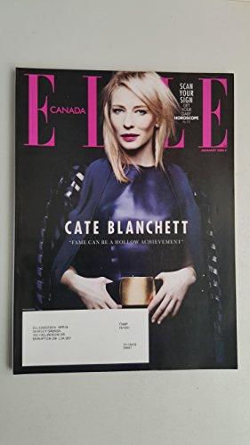 Elle Canada Magazine Jan 2014 Cate Blanchett Donald Glover Georgia May - Georgia Jagger