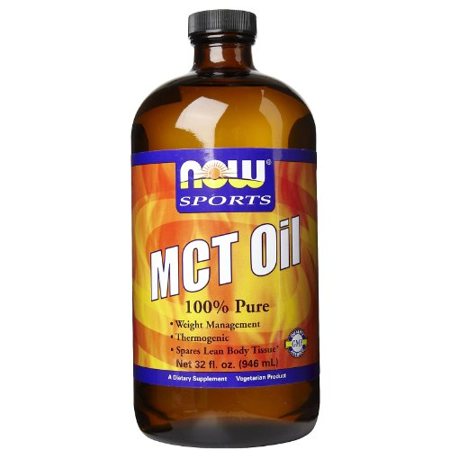 Now Foods 100% MCT Oil, 32 Ounce by NOW