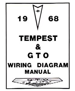 amazon com 1968 pontiac gto tempest wiring diagrams schematics rh amazon com