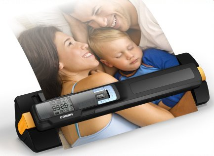Portable Feed and Wand Scanner-Black