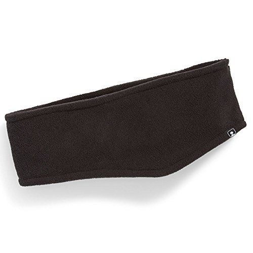 EMS Basin Fleece Headband Black One Size