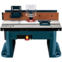 Bosch RA1181 Benchtop Router Table with Router Bit Set