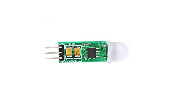 SODIAL(R) Mini IR Piroelectrico Infrarrojo PIR Motion Sensor Humano Modulo Detector: Amazon.es: Electrónica