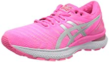 Asics Gel-Nimbus 22, Running Shoe Womens, Hot Pink/Pure Silver, 39 EU