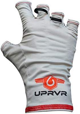 UPRVR ジェネシス UVグローブ サングローブ UPF50+ 釣り用グローブ UV保護グローブ 日焼け防止グローブ