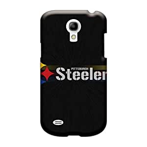 High Quality Cell-phone Hard Cover For Samsung Galaxy S4 Mini (EYN4305EXrP) Allow Personal Design Nice Pittsburgh Steelers Pattern