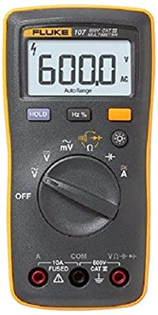 Fluke 107 Palm Sized Digital Multimeter