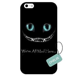 Onelee(TM) - Alice in Wonderland iPhone 6 Case & Cover - iPhone 6 Case - Black 4