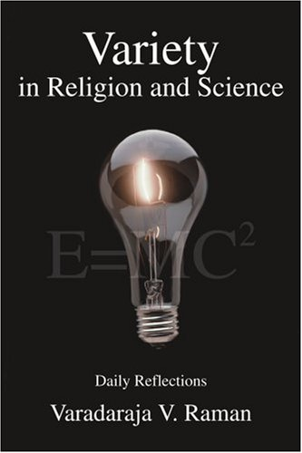 Cover of Variety in Religion and Science: Daily Reflections