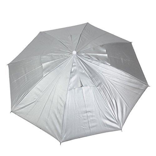 Amazon.com: DealMux poliéster Outdoor Sports Pesca Banda ajustável Dobrado chuva sombrinha chapéu cinzento azul: Home & Kitchen