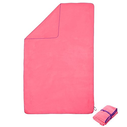 X-Sports Decathlon Sports Traveling Swimming Hiking Quick Dry Towels Microfiber Ultra-Light Beach/Gym/Hand Super-Absorbent Towels (Pink, 80cm x 130cm) by X-Sports