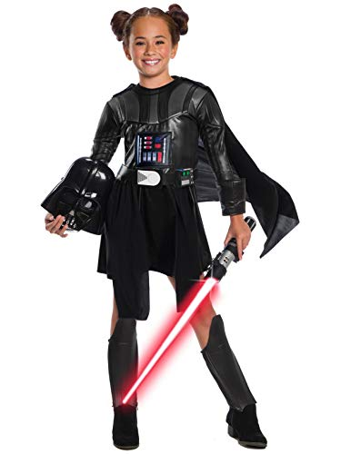 Rubie's Star Wars Classic Child's Deluxe Darth Vader Dress & Mask, Large -