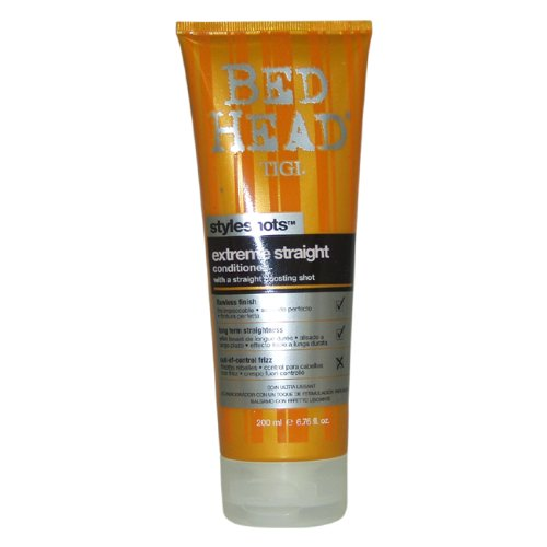 Tigi Bed Head Styleshots Extreme Straight Conditioner, 6.76 Ounce (Straight Bed Extreme Head)