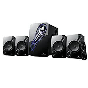 Zebronics Multimedia Speaker 4.1 with Bluetooth, Remote, SD Card and FM – Jelly Fish