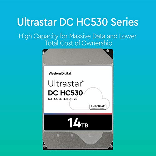 Western Digital Ultrastar DC HC530 HDD 14TB 7.2k RPM SATA 6Gb/s 512MB Cache 3.5-Inch Enterprise Data Center Hard Drive | WUH721414ALE6L4 | Bundle with COMPATILY Aluminum Screw Driver Kit by Western Digital (Image #2)
