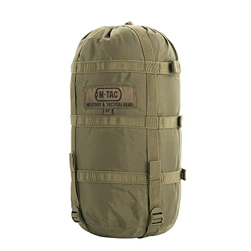 Nylon Sleeping Bag Compression Bag - Stuff Sack - Military Camping Hiking Backpacking - M ()