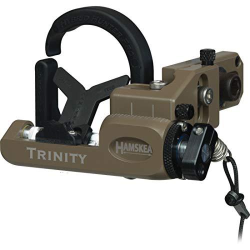 Hamskea Trinity Hunter Pro Micro Tune Rest, Right Hande (Coyote)