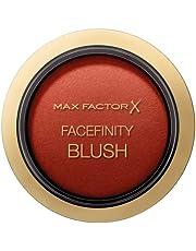 Max Factor Compact Blush Stunning Sienna 55 – gemarmerde rouge voor de perfecte glow – multitonaal poeder blush – kleur nude