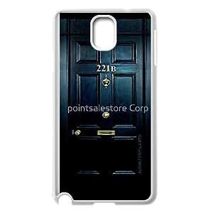 Samsung Galaxy Note 3 Phone Cases White Sherlock CXS055990