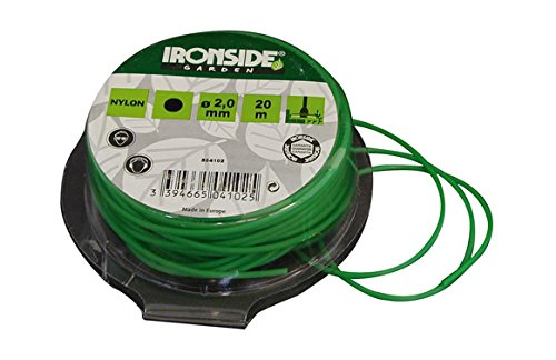 Ironside M261648 - Hilo Redondo desbrozadora 2 mm x 20 m Color ...