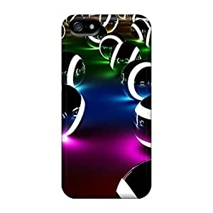 Faddish Phone Stellar 3d Spheres Cases For Iphone 5/5s / Perfect Cases Covers