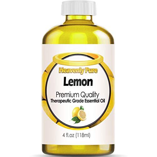 lemon essential oil 4 oz - 9