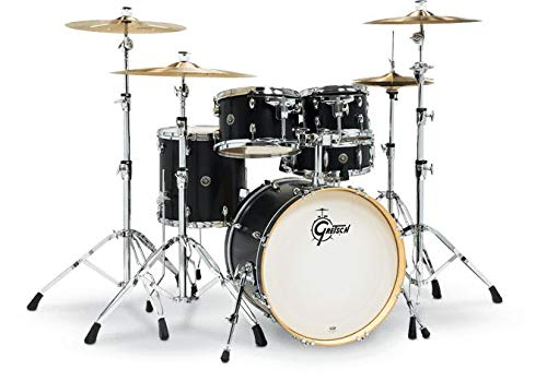 Gretsch Drums Catalina Birch Special Edition 5-piece Shell Pack - Ebony Satin - 20