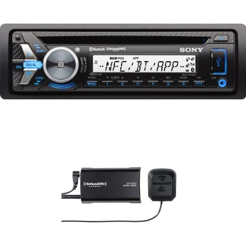 Sony MEXM70BT Bluetooth Marine Stereo Receiver with SiriusXM SXV300v1 Connect Vehicle Tuner Bundle (Sony Car Stereo Bundle compare prices)