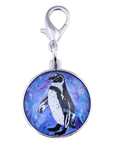 (Penguin Zipper Pull Charm, Bag Charm- Animal (Southern Sweetheart - Penguin))
