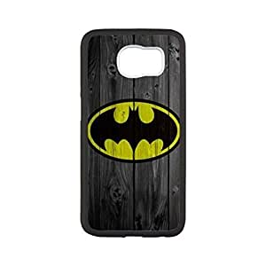 Batman Logo Samsung Galaxy S6 Case, Customized Black Silicone Rubber TPU back cover cell phones for Samsung Galaxy S6 Case,(Not Fit for Galaxy S6 Edge)