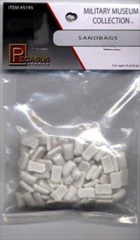 Sandbags (Unpainted) Model Supplies (Wwii Sandbag)