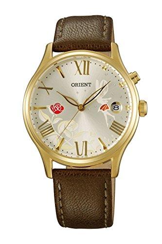 Reloj Orient de Mujer automático Dorado con Esfera Decorada DM01005S.: Amazon.es: Relojes