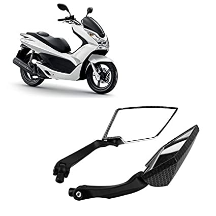 Universal Scooter Rearview Mirrors Moped ATV Motorcycle Backup Mirror Pair