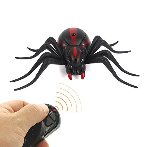Top Race Remote Control Spider Animal Toy Infrared RC Great For Party or Halloween (TR-A21)