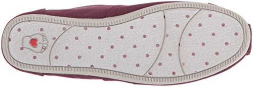 Skechers BOBS from Women's Plush-Peace and Love Ballet Flat, Burgundy, 8.5 M US by Skechers (Image #3)