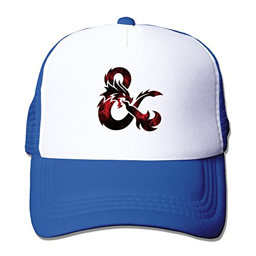 Cool Dungeons & Dragons Trucker Mesh Baseball Cap Hat - Nana Trucker Hat