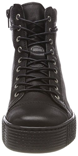 Of A Eden black Rosa Collo Nero Donna Sneaker Alto 1 Apple nIqSAdxI