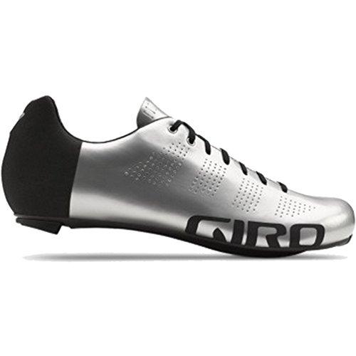Giro GF20150 Mens Empire Acc Road Shoes, Silver/Flash Black - 48