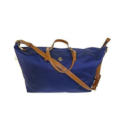 c87513e3d8 chic Lauren by Ralph Lauren Bainbridge Darlene Duffel Bag Navy ...