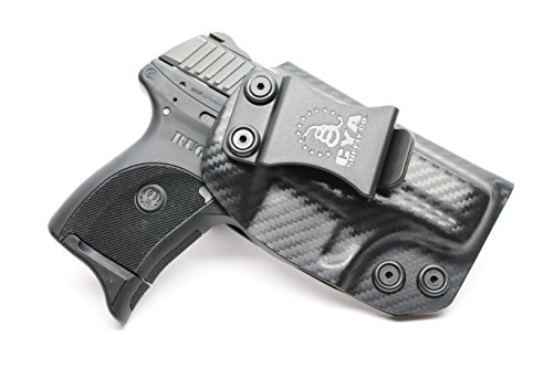 CYA Supply Co. IWB Holster Fits: Ruger LC9 / Ruger LC9s / Ruger LC380 - Veteran Owned Company - Made in USA - Inside Waistband Concealed Carry Holster