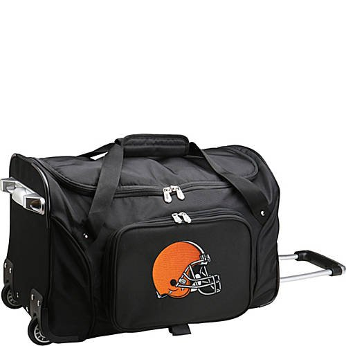 NFL 22'' Rolling Duffel Cleveland Browns by TableTop King