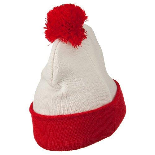 E4hats Red White Long Beanie - Waldo Costume - Buy Online in UAE ... 77fc75ecb2e